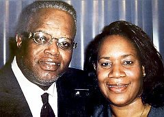 Rev. Wright & wife Betty