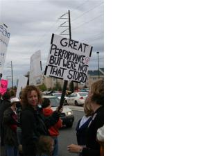 Alaskan Protest