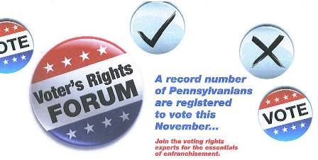Voter Forum