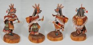 wood kachina dolls