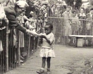 Throughout the late 19th century, and well into the 1950′s, Africans and in some cases Native Americans, were kept as exhibits in zoos. Far from a relic from an unenlightened past, remnants of such exhibits have continued in Europe as late as the 2000′s. Above photograph is from Brussels, Belgium in 1958.
